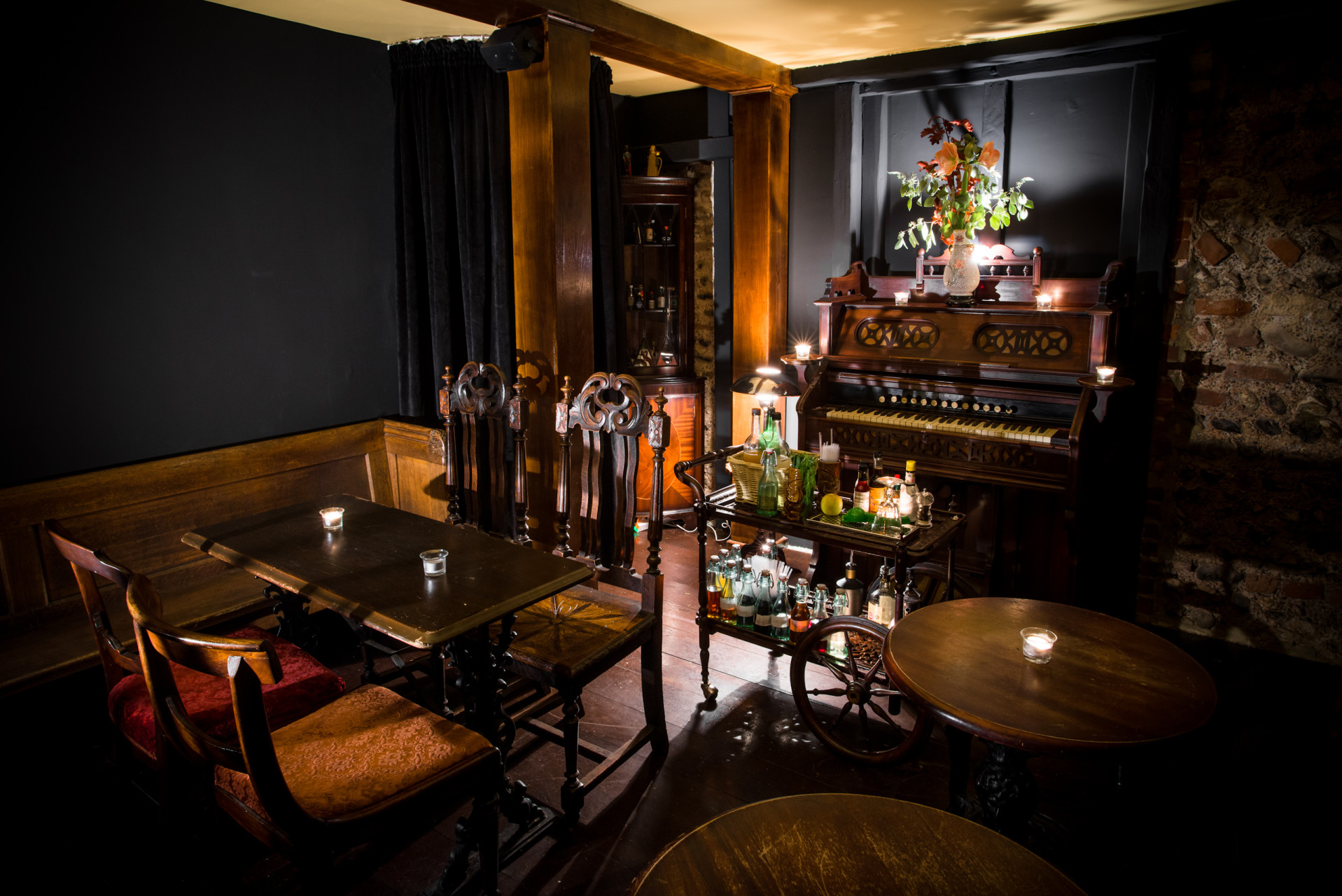Interior Photography of BYOC Brighton's Upstairs Bar