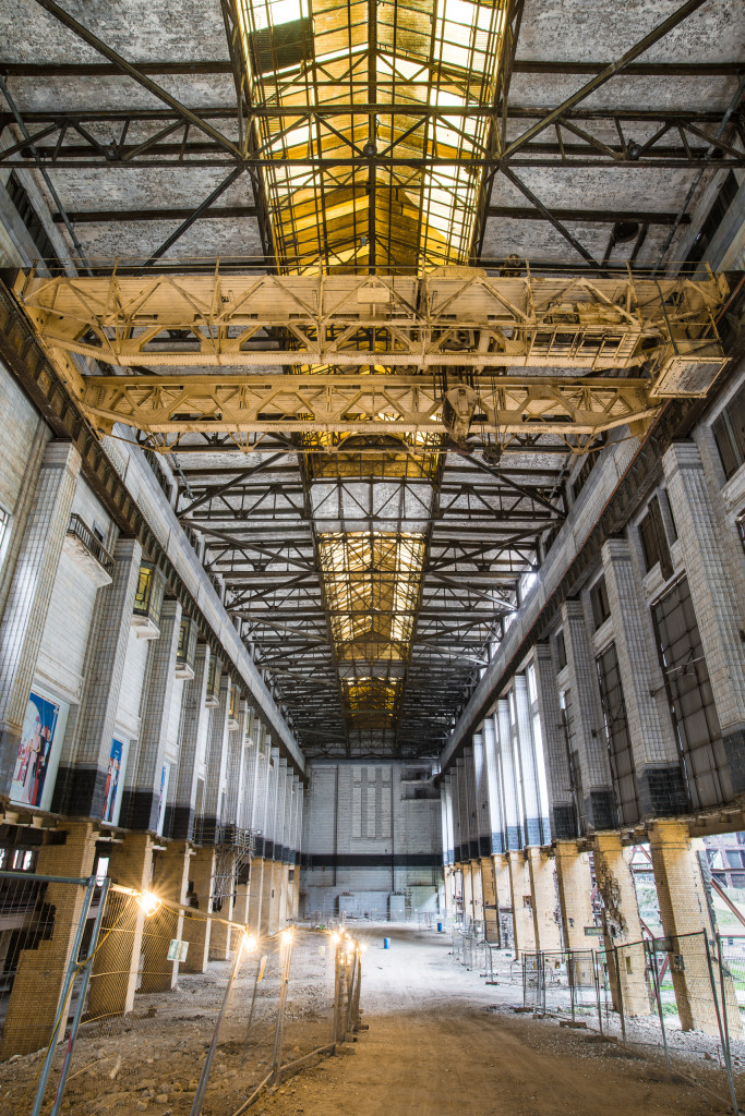 Photo of main generating hall A in Battersea Power Station