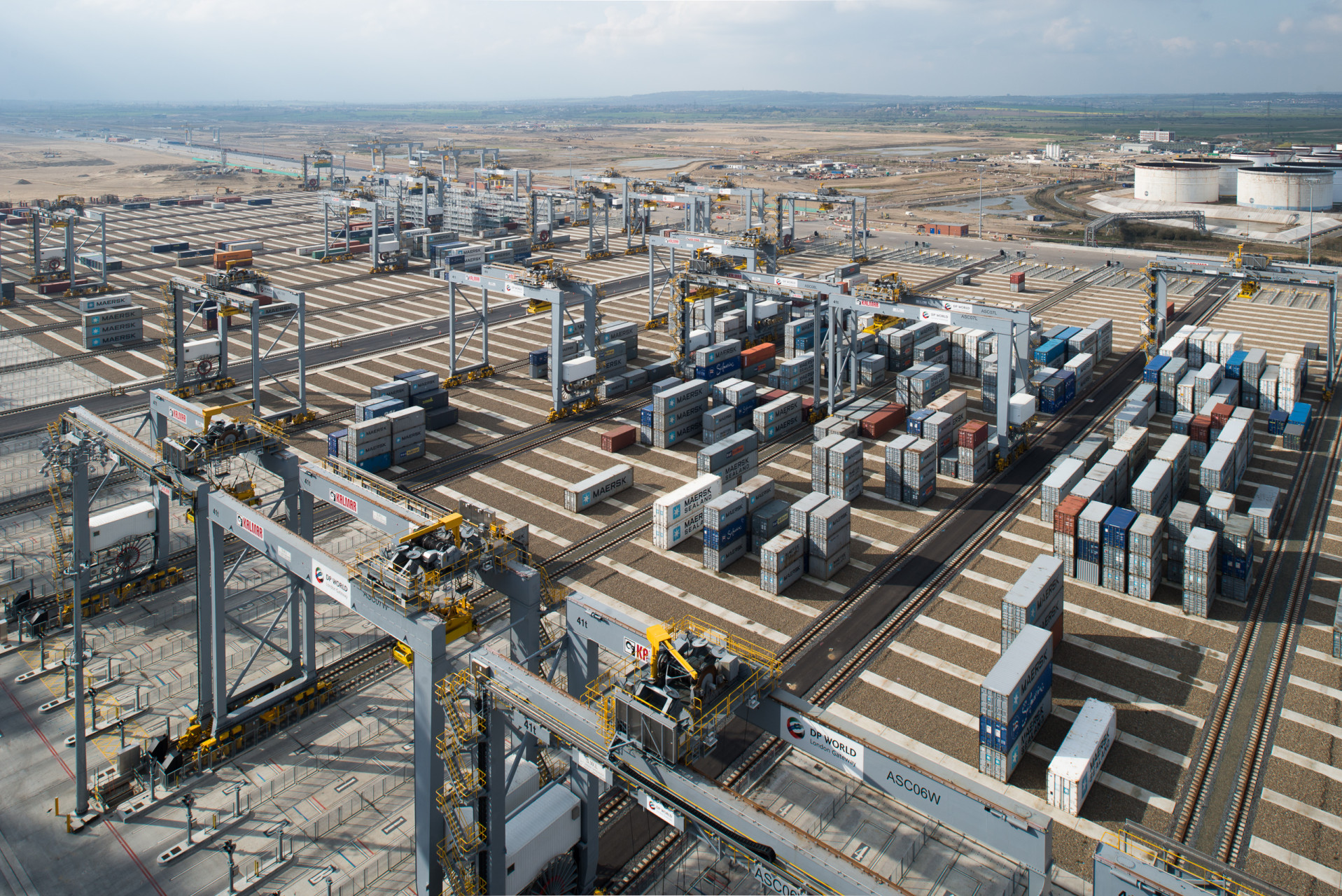 London Gateway Port, Berth 2