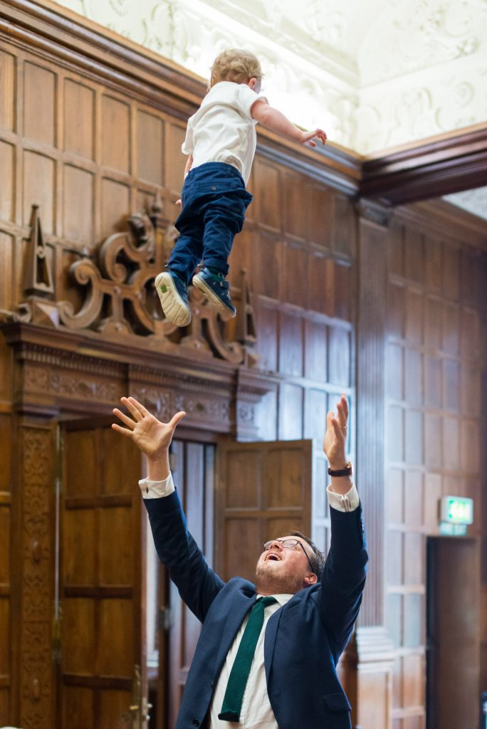 Higher daddy!